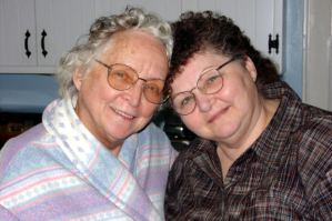 Elderly Woman (Happy)